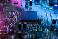 Microchips. Royalty Free Stock Images