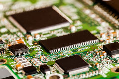 Microchips Details Stock Images