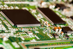 Microchips Details Royalty Free Stock Photo
