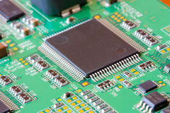 Microcircuit Royalty Free Stock Images
