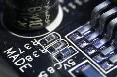 microcircuit fotografia stock