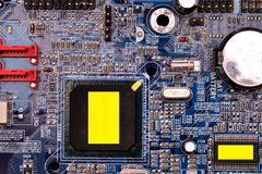 Microcircuit. Royalty Free Stock Photography