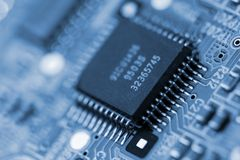 Microcircuit Royalty Free Stock Image