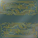 microcircuit Arkivbild