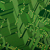 Microcircuit Stock Image