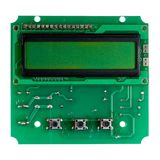 Microcircuit board Royalty Free Stock Photo