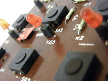 Microcircuit board Stock Photography