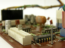 Microcircuit board Stock Image