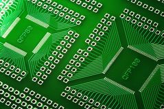 Microcircuit technology Royalty Free Stock Images