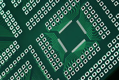 Microcircuit technology stock photos