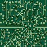 Microcircuito senza giunte Fotografia Stock