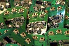 Microcircuits électroniques photo stock