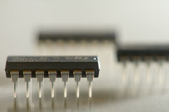 Microcircuits Royalty Free Stock Photos
