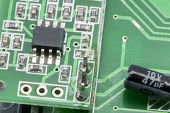 Microcontroller board Royalty Free Stock Photography