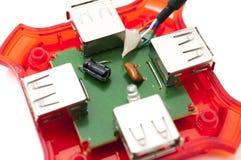 Microcontroller board Royalty Free Stock Photos