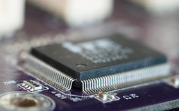 Microcontroller Royalty Free Stock Image
