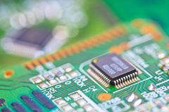 Microcontrollers Stock Image