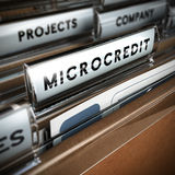 Microcredit Royalty Free Stock Photo