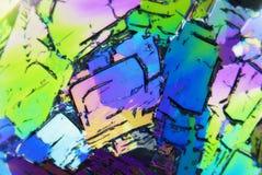 microcrystals royaltyfria bilder