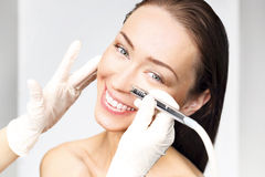 Microdermabrasion Stock Photos
