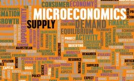 Microeconomia illustrazione vettoriale