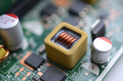 Microelectronic board Stock Photos