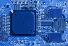Microelectronics. Background can use the Internet, print advertising and design Stock Photography