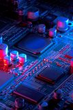 Microelectronics Stock Photo