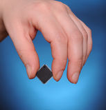 Microelectronics concept Stock Image