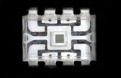 Microelettronica e chip immagine stock