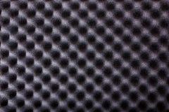 microfiber绝缘材料纹理噪声的在音乐演播室或ac 免版税库存照片