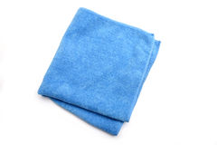 Microfiber cleaning cloth Stock Photo