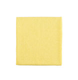 Microfiber cleaning towel over white background Royalty Free Stock Photo