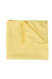 Microfiber cleaning towel over white background Stock Images
