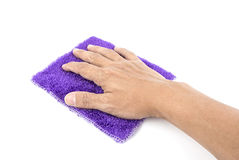 Microfiber cloth. Stock Images