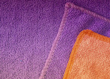 Microfiber cloth surface Stock Photography