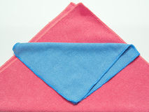 Microfiber cloth Royalty Free Stock Photo