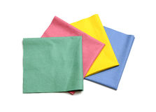 Microfiber cloths royalty free stock image
