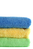 Microfiber Cloths Royalty Free Stock Photo