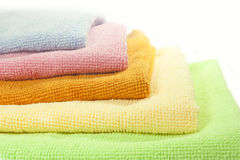 Microfiber cloths Stock Photography