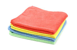 Microfiber cloths Royalty Free Stock Photography