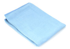 Microfiber glass cleaning cloth Stock Images