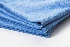 Microfiber handduk för bilwipe Arkivfoto