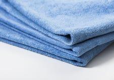 Microfiber handduk för bilwipe Arkivbild