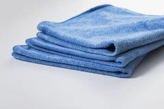 Microfiber towel for car wipe Royalty Free Stock Image