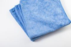 Microfiber towel for car wipe Royalty Free Stock Photos