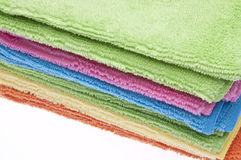 Microfiber Towels Royalty Free Stock Photography