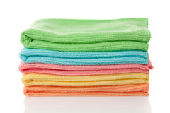 Microfiber towels Royalty Free Stock Photo