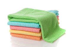 Microfiber towels Royalty Free Stock Image