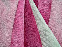 Microfiber towels set. Stock Image